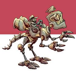 Dinorobot by Kravenous