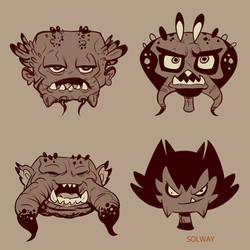 Creepies by Kravenous