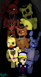 Five Nights at Freddy's by TheMangledPuppet1