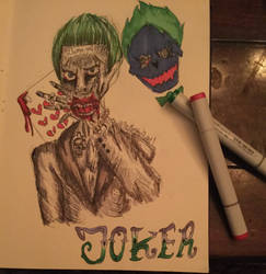 Joker (Suicide Squad)  by TheMangledPuppet1