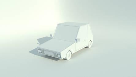 Cartoon Car WIP by blenderednelb
