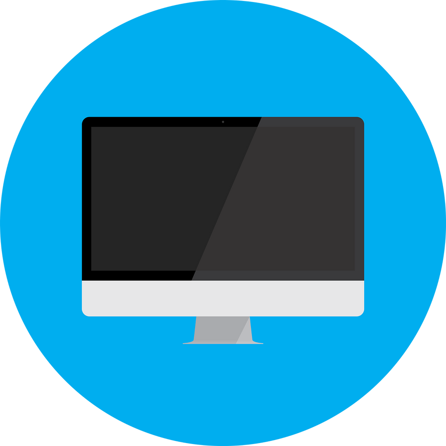 Flat iMac by blenderednelb