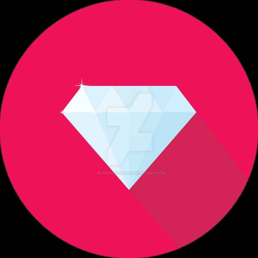Flat Diamond by blenderednelb