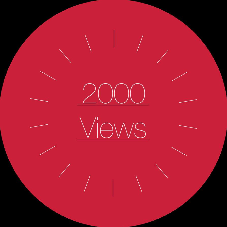 2000 Views! by blenderednelb