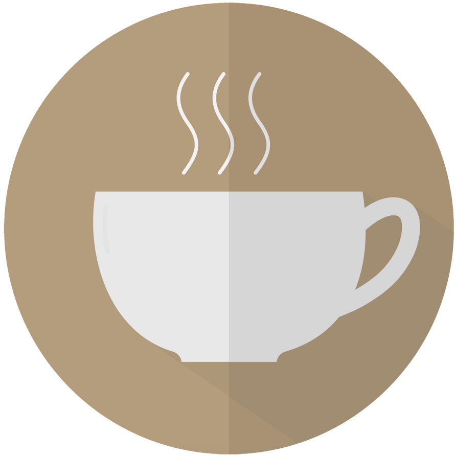 Flat Coffee Design! by blenderednelb