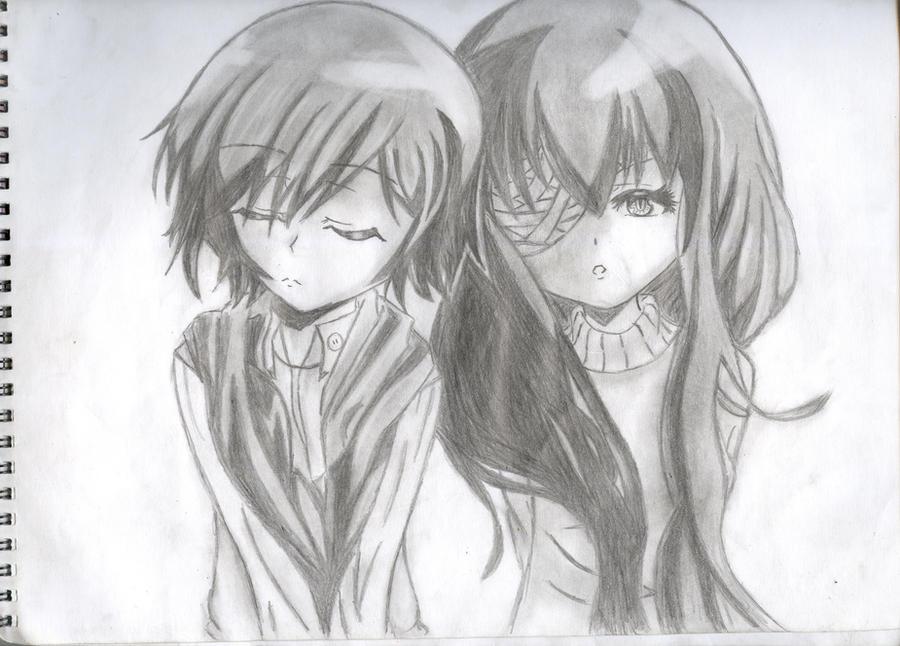 Anime Drawings - Anime Drawings By Kurunomibreak Ma Ct