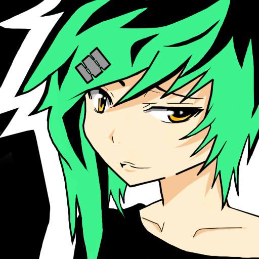 Emo Girl (Cartoon Ver.) by KurunomiBreaK