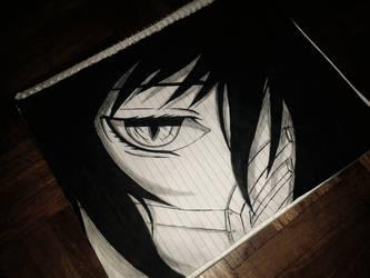 Anime Eye Sketch by KurunomiBreaK