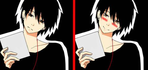 Anime guy by KurunomiBreaK