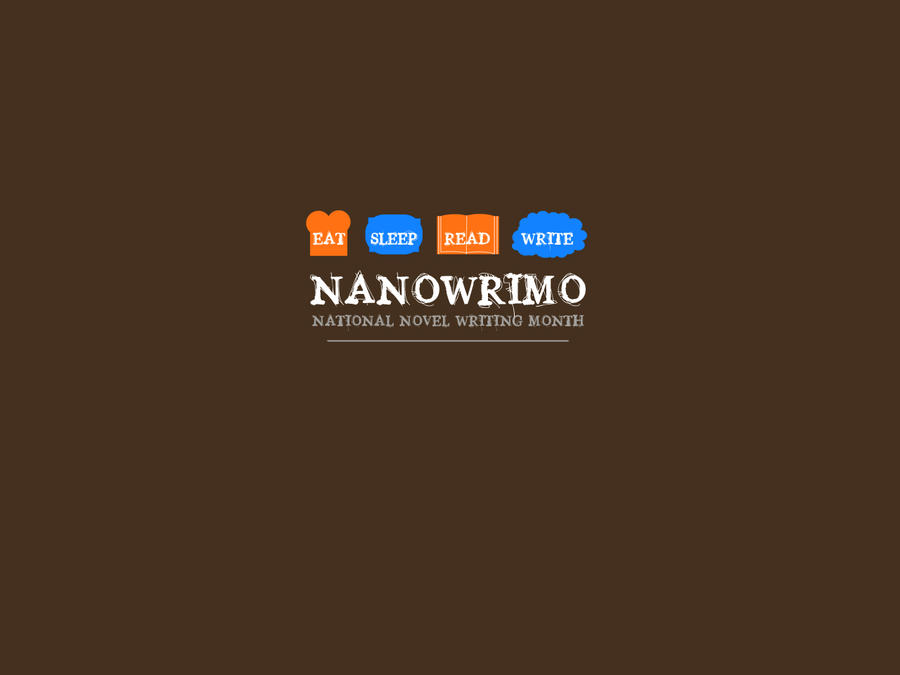 NaNoWriMo wallpaper by LemonSquash