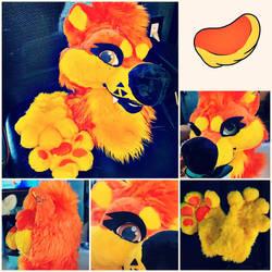 Orange Canine SOLD
