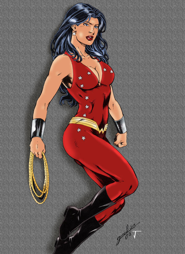 Wonder Girl - Donna Troy by ikbarron