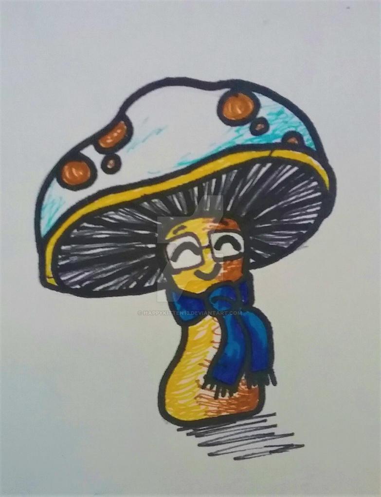 Morey Mushroom by happykitten13