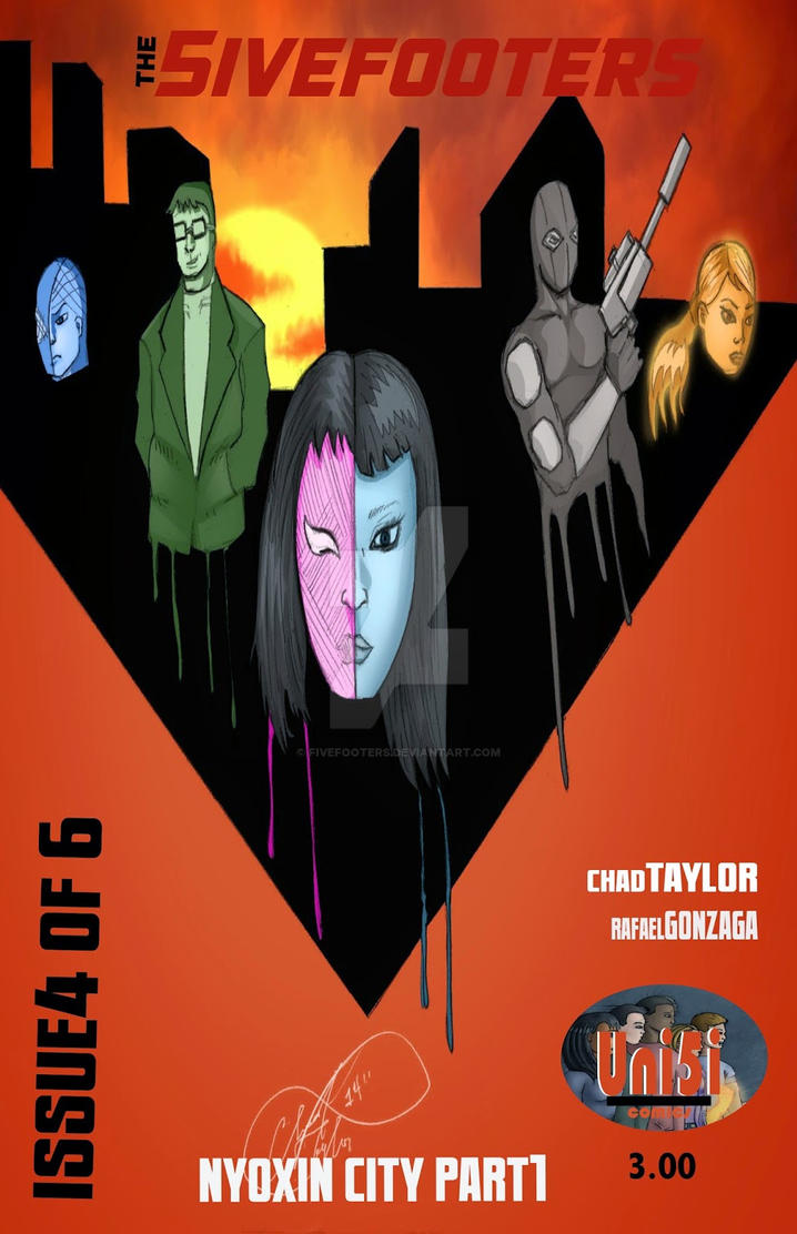 5ivefooters issue #4 will be available 3/17/15 by Fivefooters