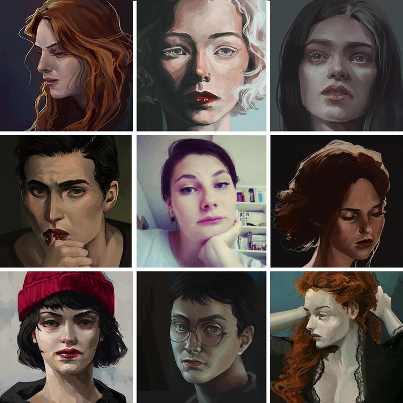 Art vs Artist by naeloj