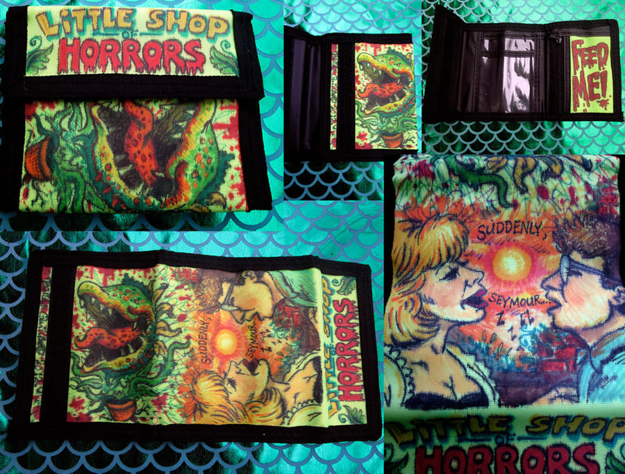 Doodle Wallet Little Shop Of Horrors by whyamitheconvict