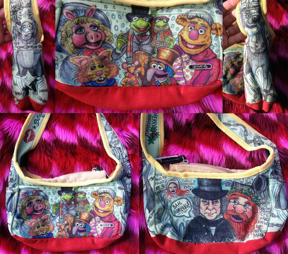 Ebenezer Scrooge Muppet Christmas Carol Jpg: Doodle Bag The Muppet Christmas Carol By Whyamitheconvict