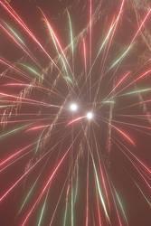 Twin Fireworks by alenbernardis