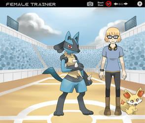 Pokemon Trainer, Tawnya by MyTotalBeymon