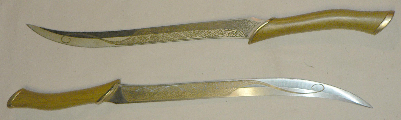 Нож эльфийский своими руками 1019