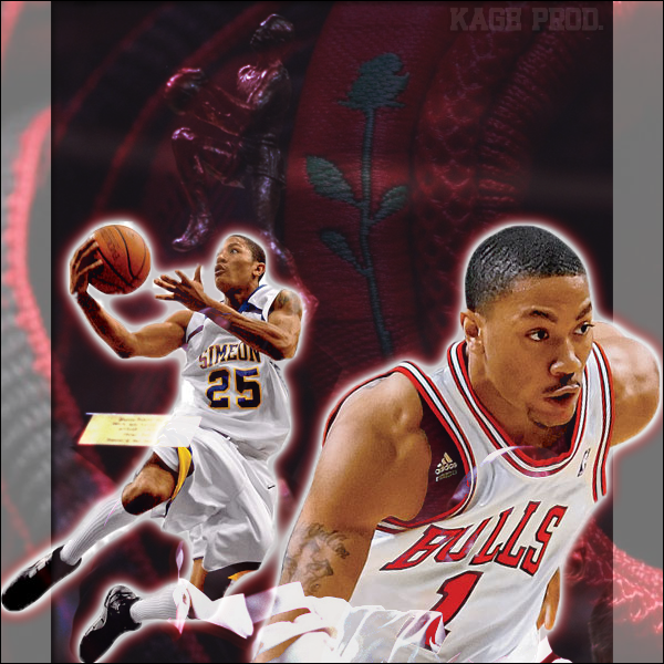 54076c39c9d8 Derrick Rose  Born From Thorns by kagegao on DeviantArt