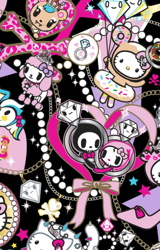 Tokidoki X Hello Kitty IPhone Wallpaper By KawaiiSwwagg