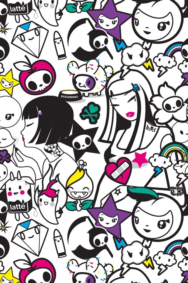 tokidoki iphone wallpaper by kawaiiswwagg on deviantart