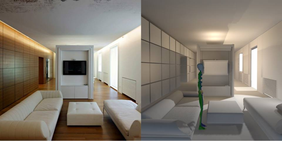 Real Apartment Vs 3D Model By Jaxx94 ...
