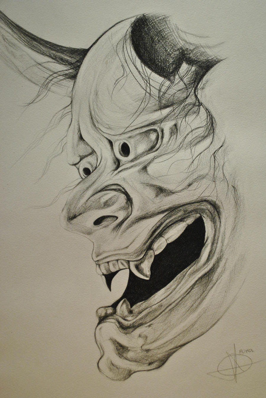 Jeff Gogue Hannya Mask | www.imgkid.com - The Image Kid ...