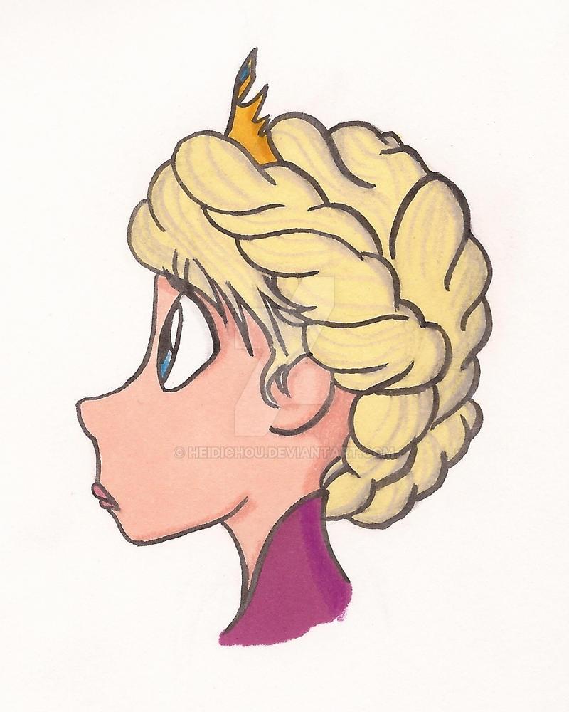 .:Queen Elsa:. by ZippyDee20