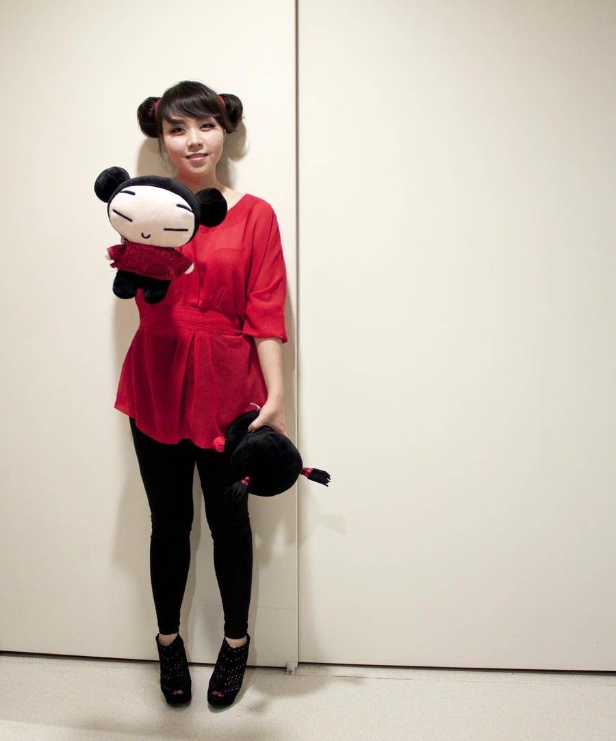 Pucca cosplay by joonera