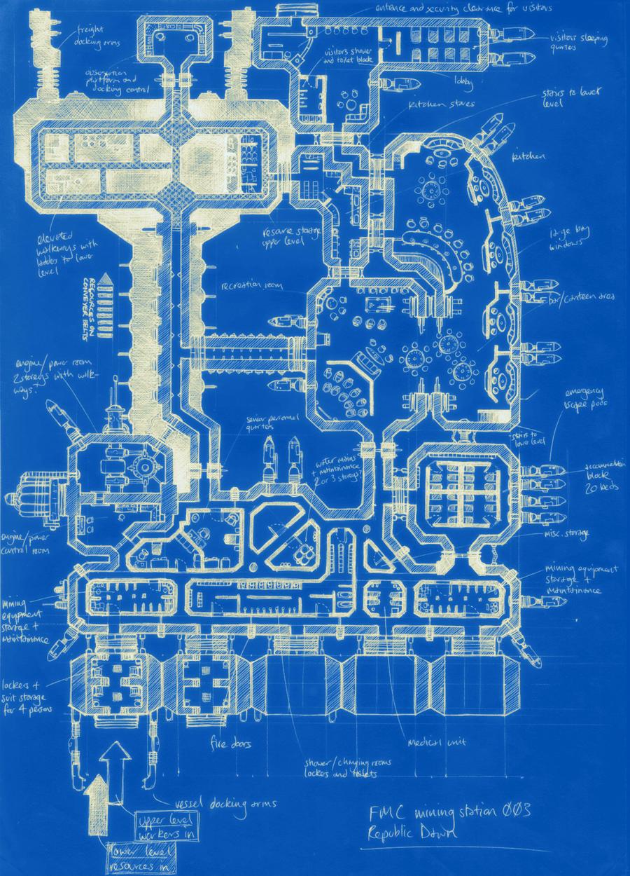 Space Station Blueprint by SoulSonicFarce on DeviantArt