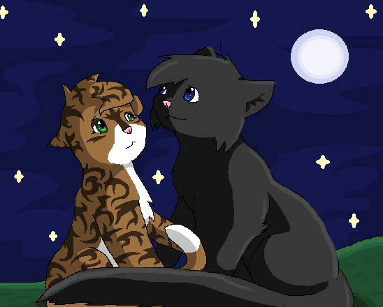 Leafpool and Cr... Leafpool And Crowfeather Mating