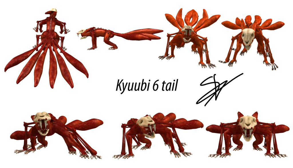 Spore - Kyuubi 6 tail by Latisky on DeviantArt