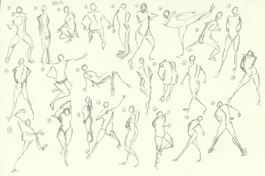 Gesture Practice - Day 26 (I) by jiashengxero