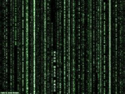 my computer does teh matrix... by Randomnessicity