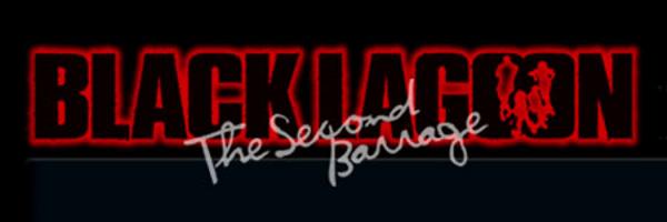 Black Lagoon: The Second Barrage Logo by Jlla1993