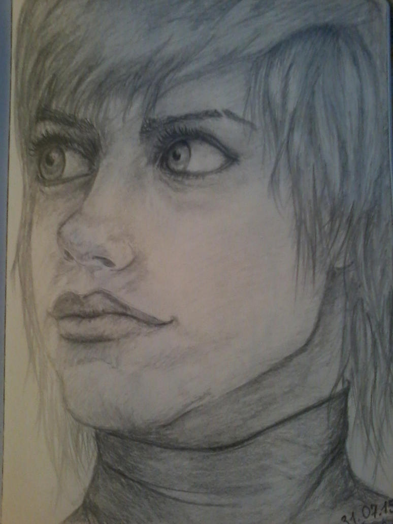 PortretDevushki by IrbisSm