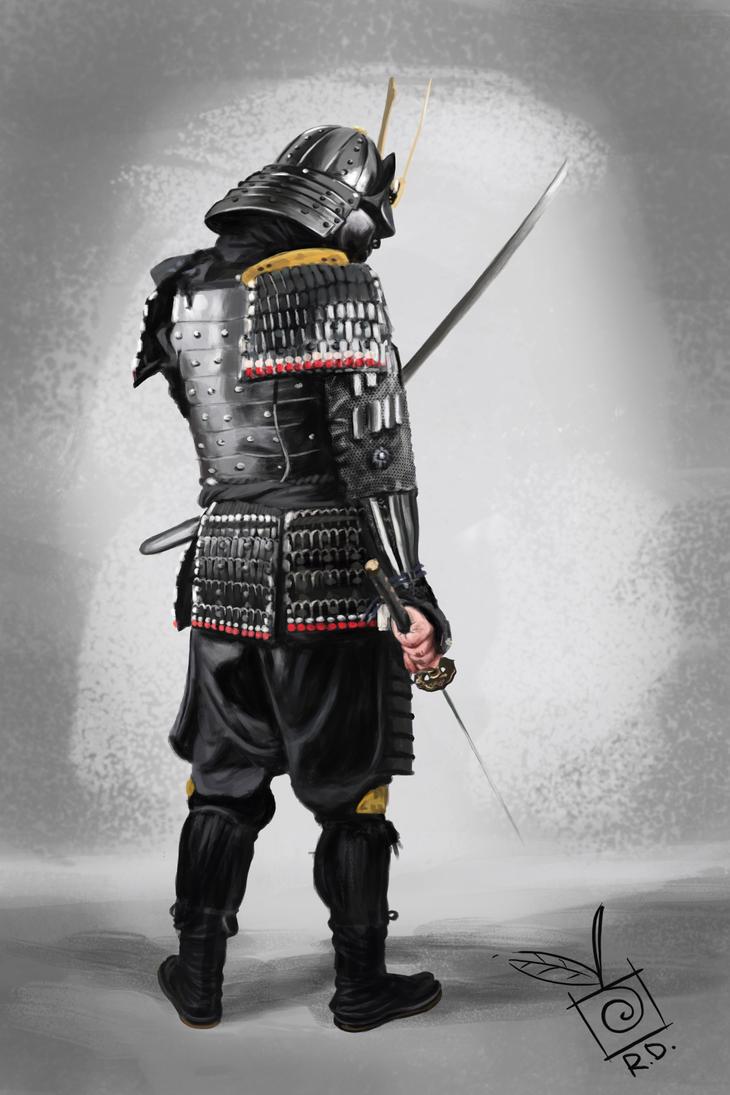 Samurai Study by TheLastParanoid