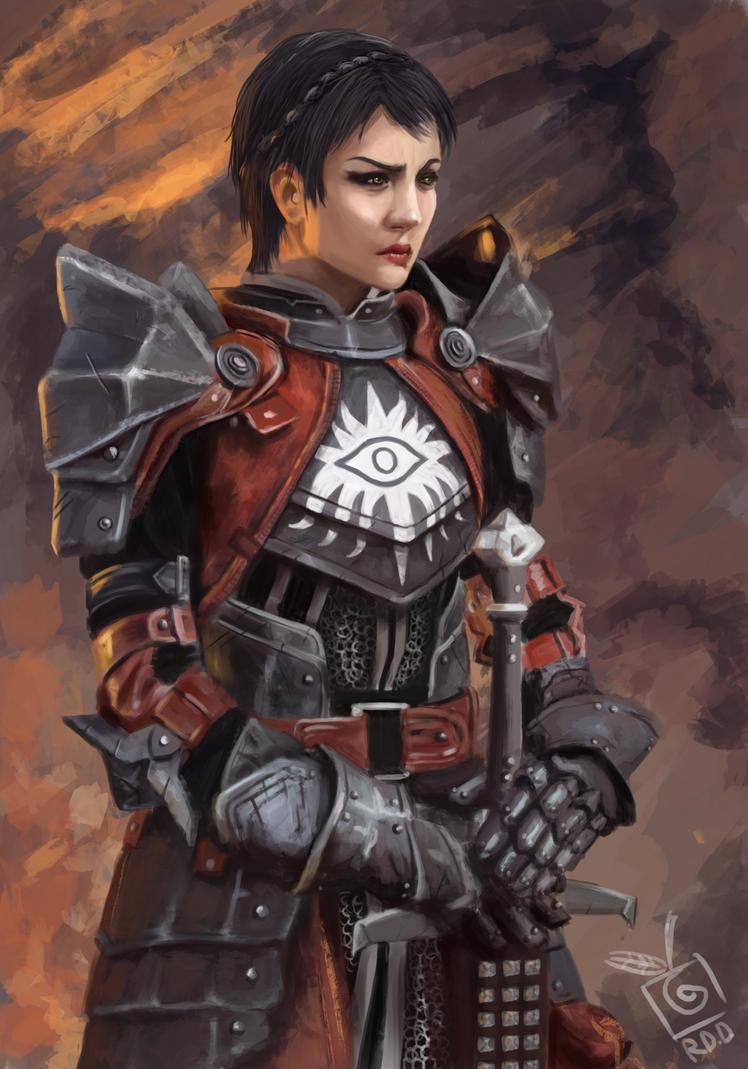 Cassandra Dragon Age. by TheLastParanoid