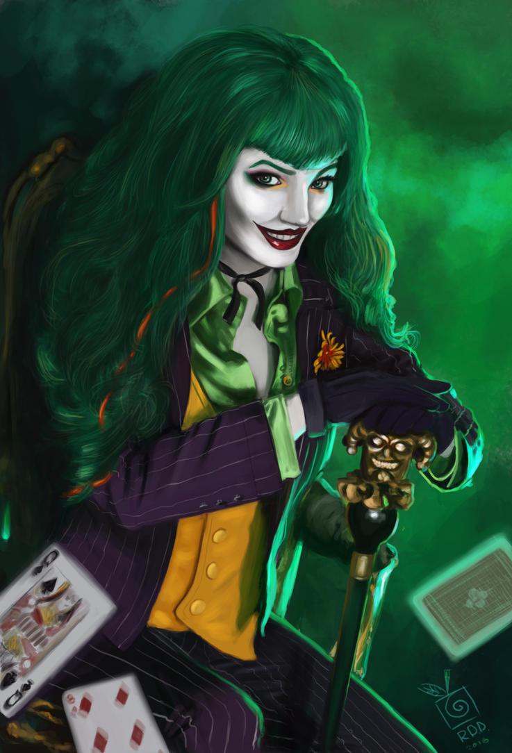 Famale Joker by TheLastParanoid