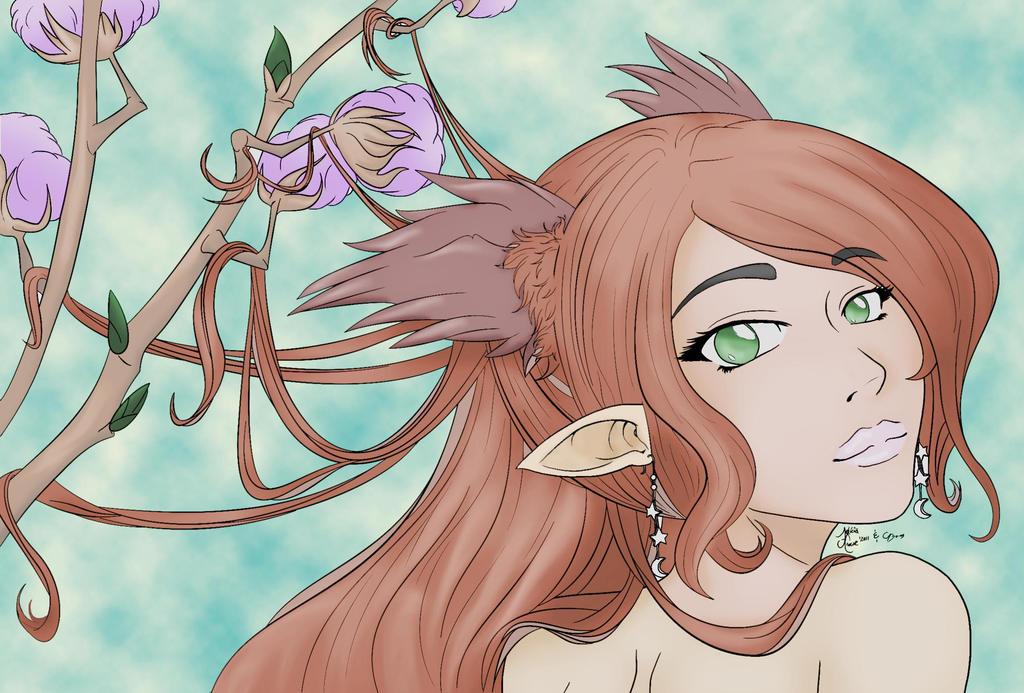 Elf Girl by syaqiq94