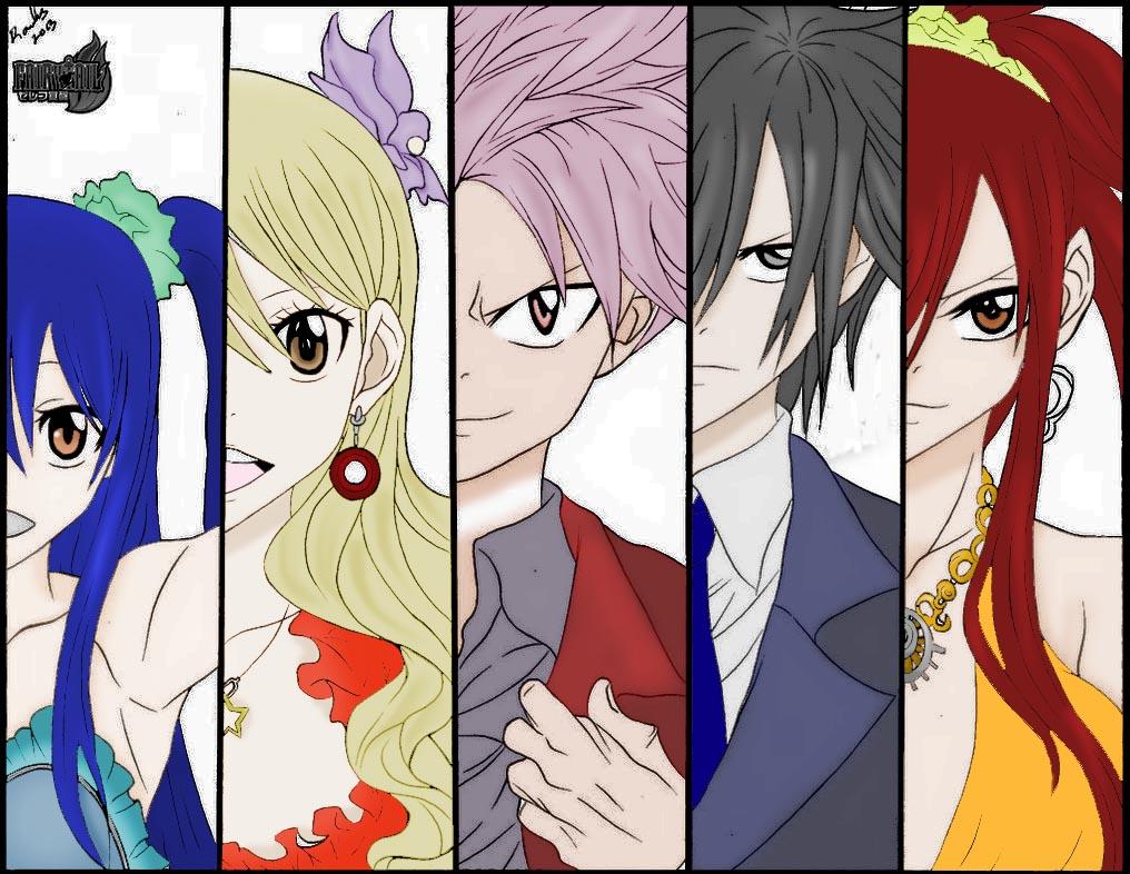 The Fairy Tail Gang by syaqiq94