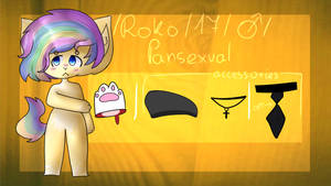 Comission 1/2   Roko REF + speedpaint