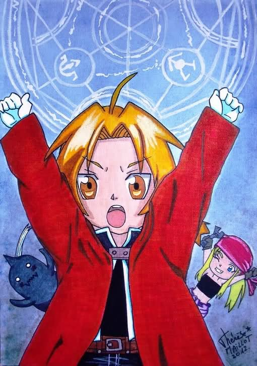 Full metal alchemist (Hiromu Harakawa) by Theresem97
