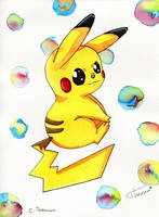 Pikachu by Theresem97