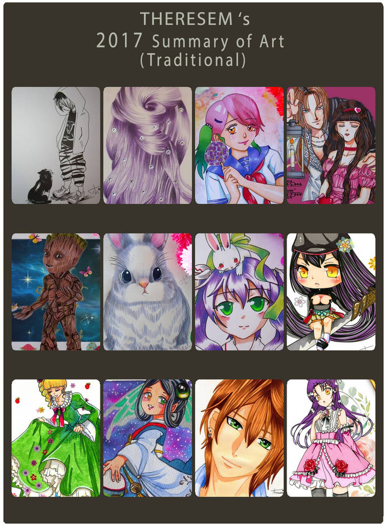 2017 Summary of Art traditionnel Theresem by Theresem97
