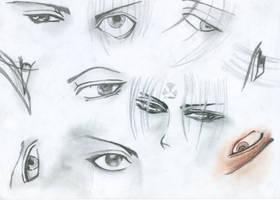 Manga and Anime Eyes 1 by 19Ilili88