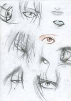 Manga and Anime Eyes 2 by 19Ilili88