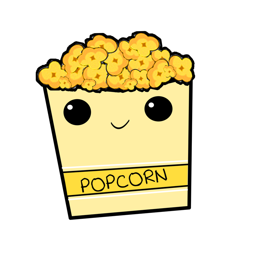 Popcorn PNG by BellaThorneAlways